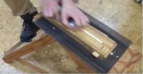安全なカンナキットでオリジナルの箸づくり